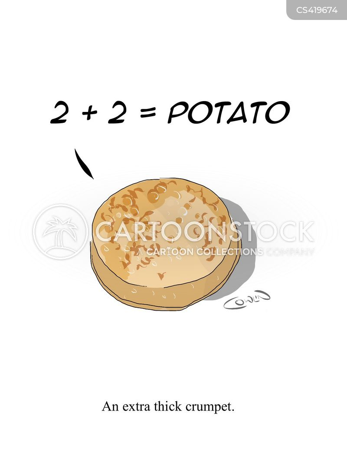 basic maths cartoon