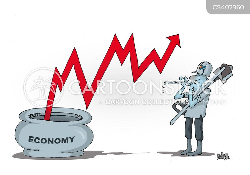 upturn cartoon