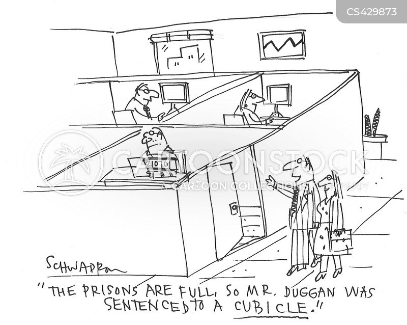prison system cartoon