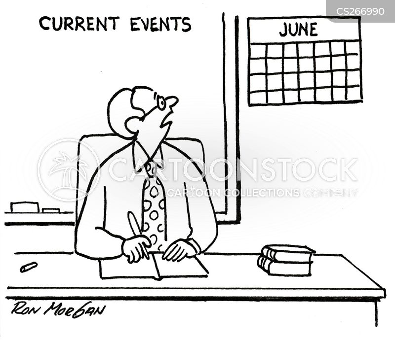 calender cartoon