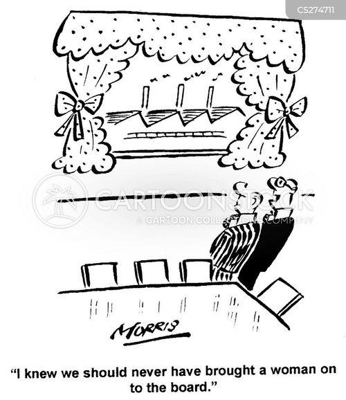 frilly cartoon