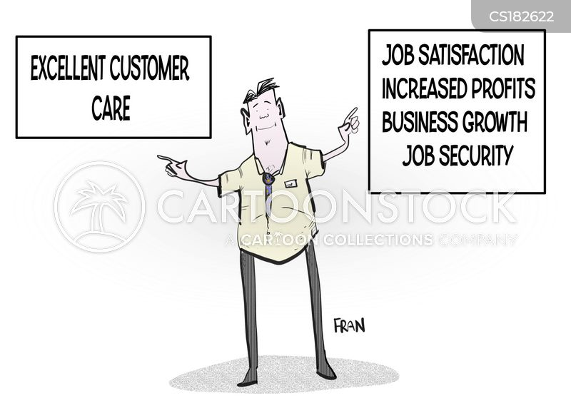 customer feedback cartoon