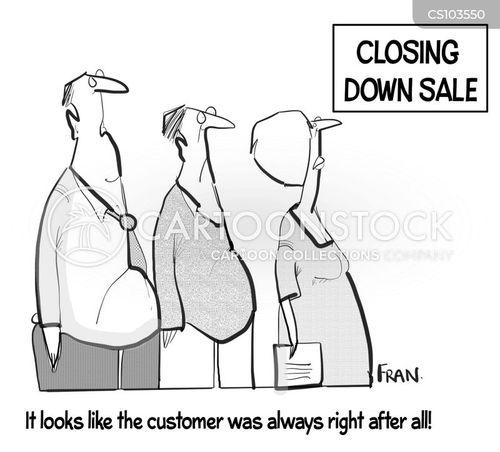 business advice cartoon