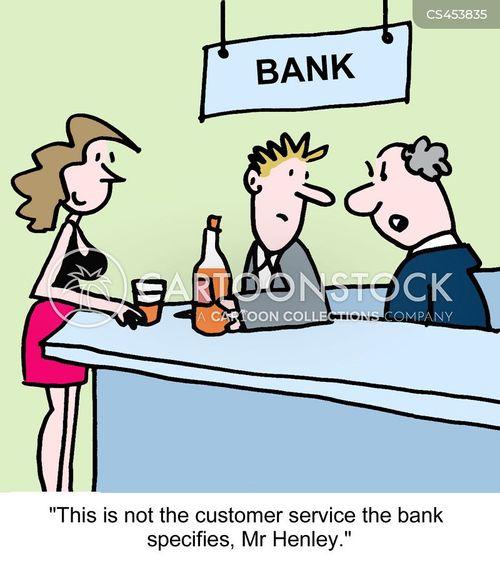 Banking Clerks Cartoons And Comics