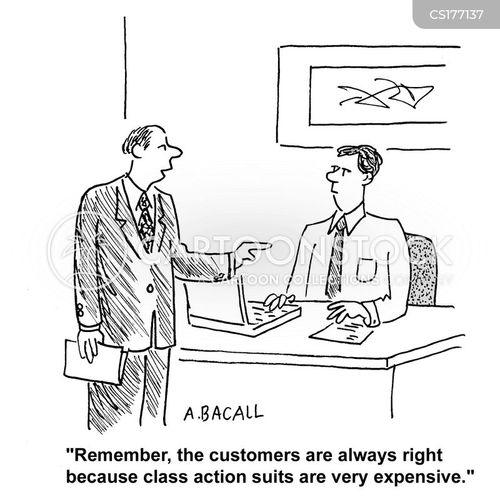 customer care cartoon