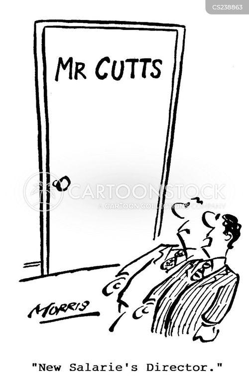 salaries director cartoon