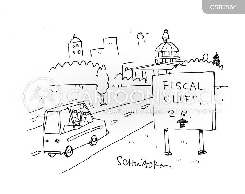 fiscal cartoon