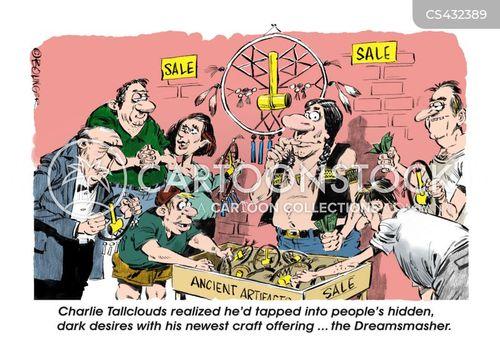 dreamcatcher cartoon