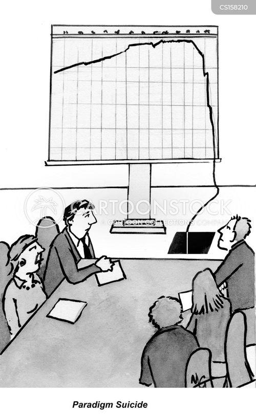 economic depressions cartoon
