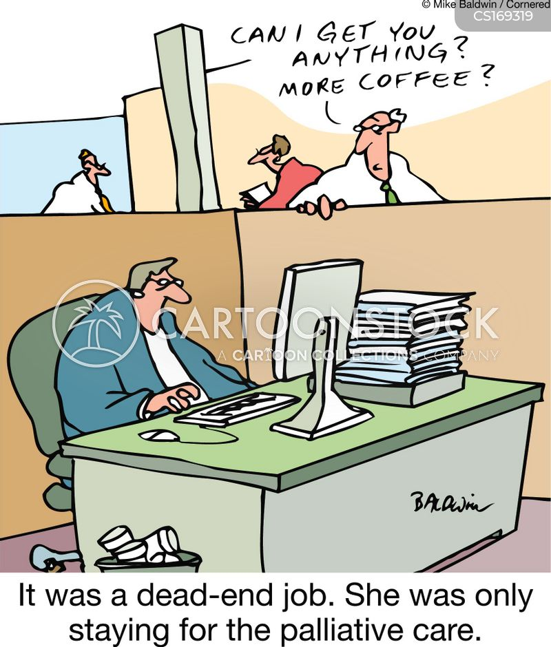 job perks cartoon