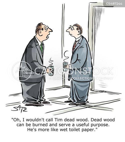 dead wood cartoon