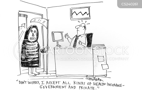 employee health care cartoon