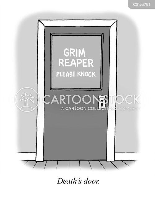knock cartoon