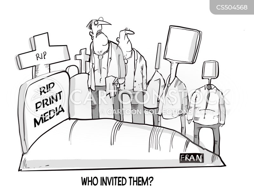 local newspaper cartoon