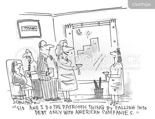 local economy cartoon