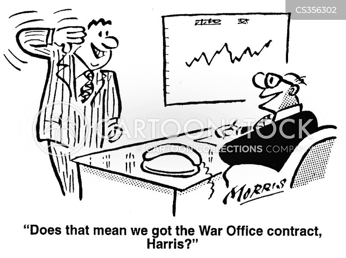 indicating cartoon