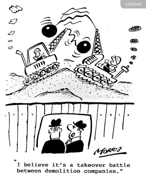 takeover battles cartoon