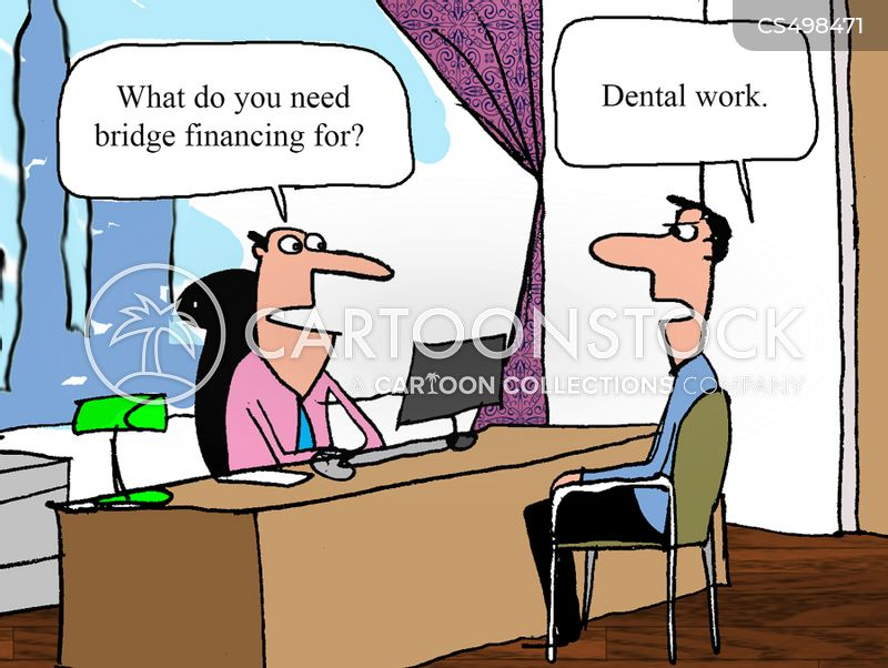 bridge financing cartoon