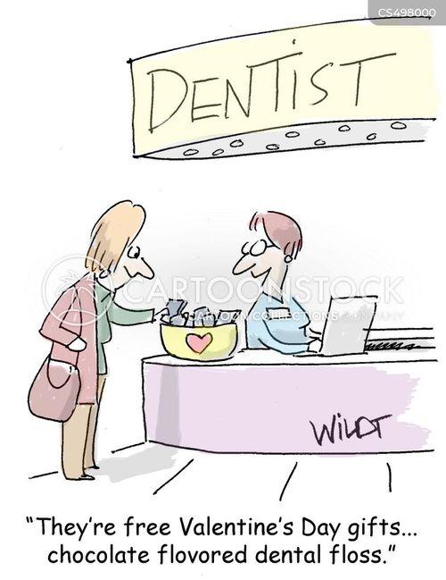 dentist office cartoon