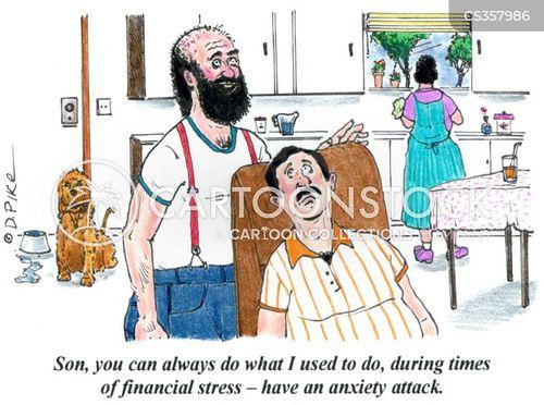 coping mechanisms cartoon