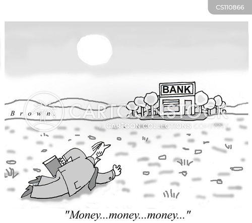 dieing cartoon