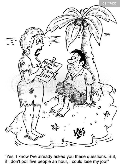 market analyst cartoon