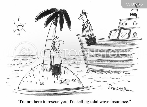 tidal waves cartoon