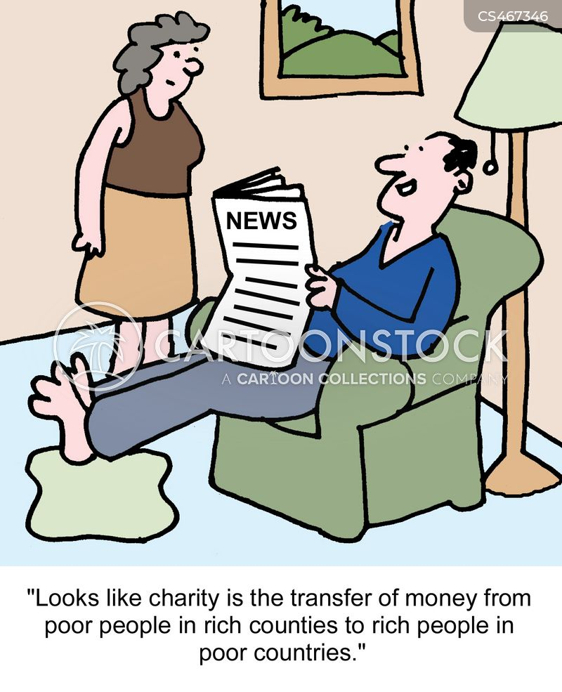 government aid cartoon