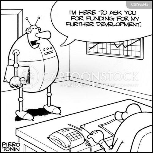 business proposal cartoon