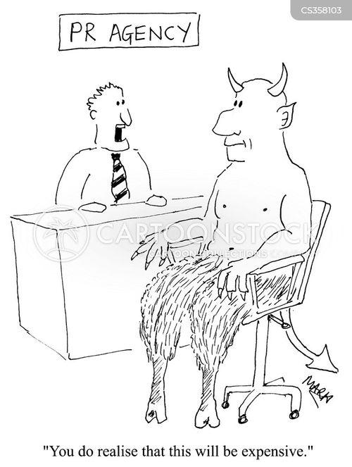pr consultancy cartoon