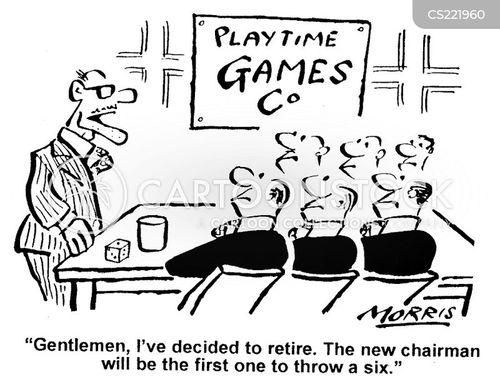 selection processes cartoon