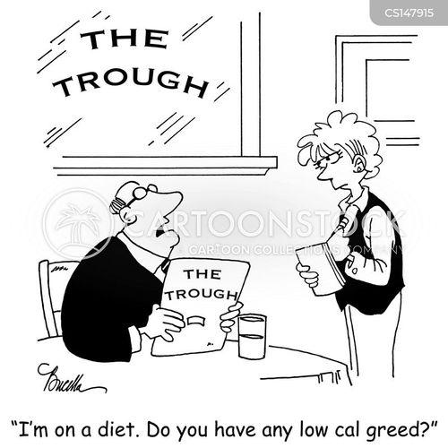 Low Fat Diet Cartoon 1 Of 2