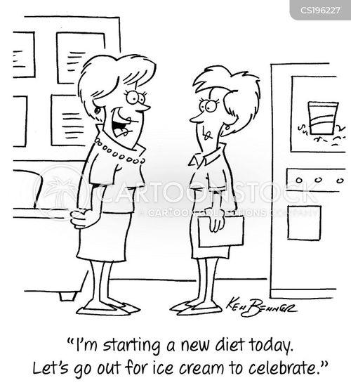 new diet cartoon