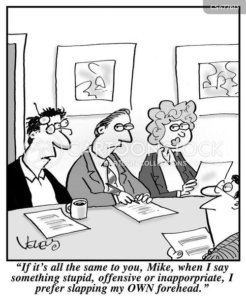 respond cartoon