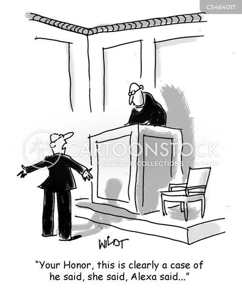 hearsay cartoon