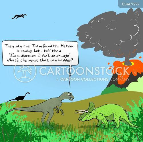 meteor strikes cartoon