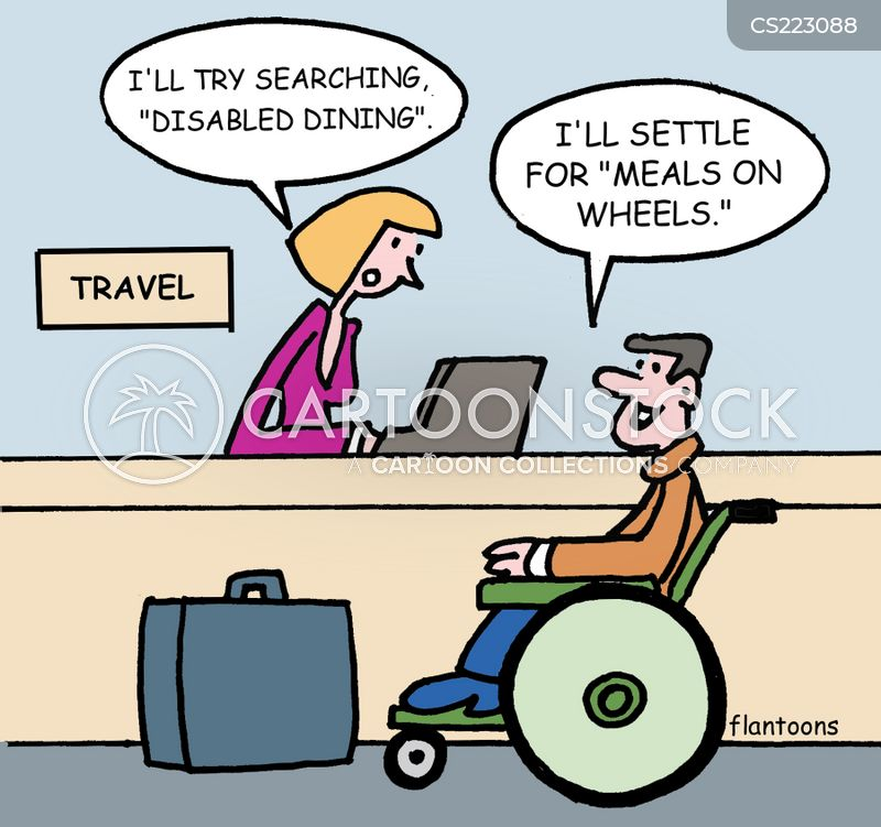 Disabled Dining cartoons, Disabled Dining cartoon, funny, Disabled Dining picture, Disabled Dining pictures, Disabled Dining image, Disabled Dining images, Disabled Dining illustration, Disabled Dining illustrations