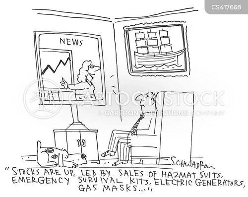 doomsday prepper cartoon