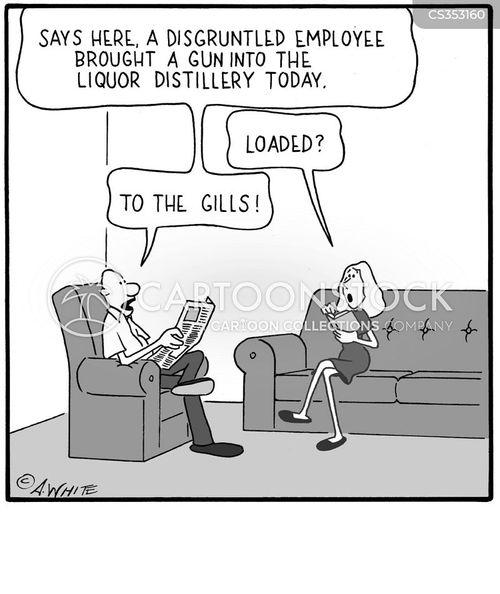 distilleries cartoon