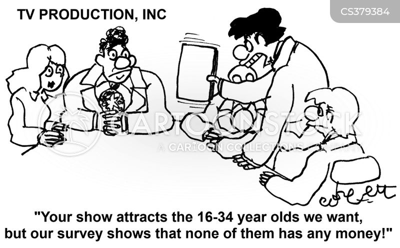 marketing survey cartoon