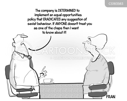 gender equality cartoon