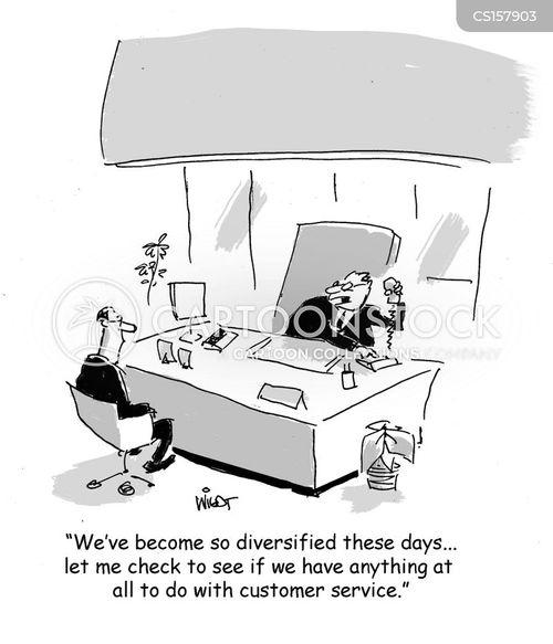 diversifying cartoon