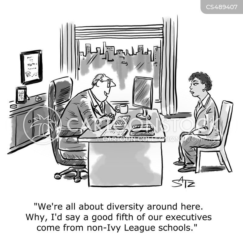 equal opportunities employer cartoon