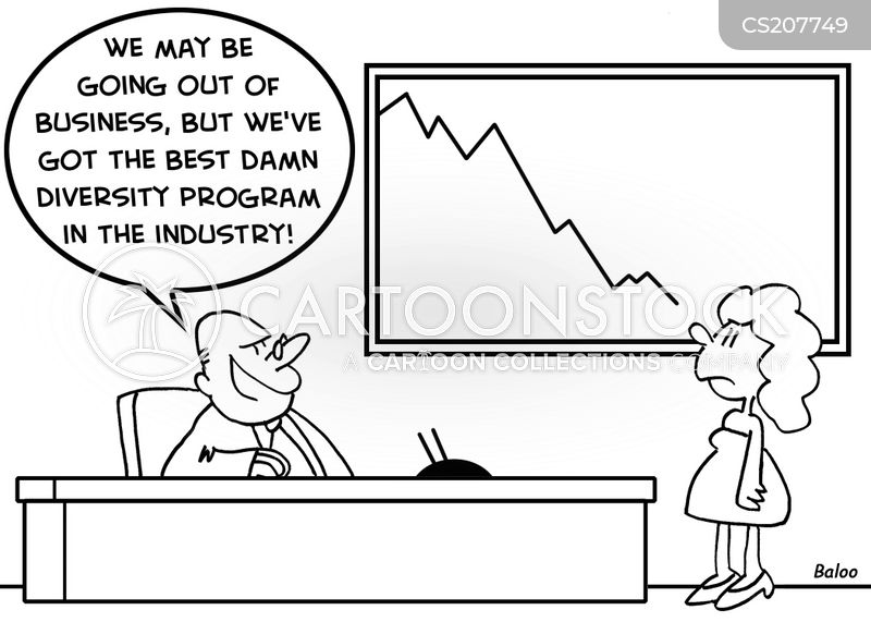 diversity programmes cartoon
