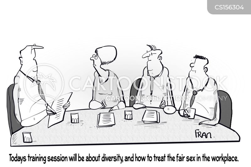 diversity training cartoon