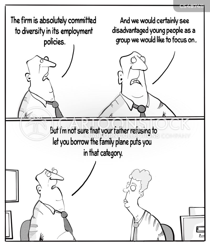 workplace diversity cartoon