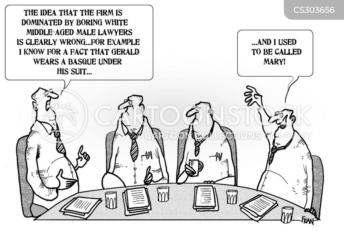 diversity law cartoon