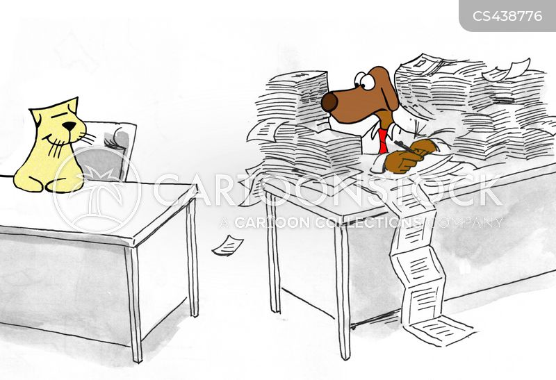 tidy desk cartoons and comics funny pictures from cartoonstock
