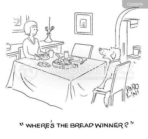 bread winners cartoon