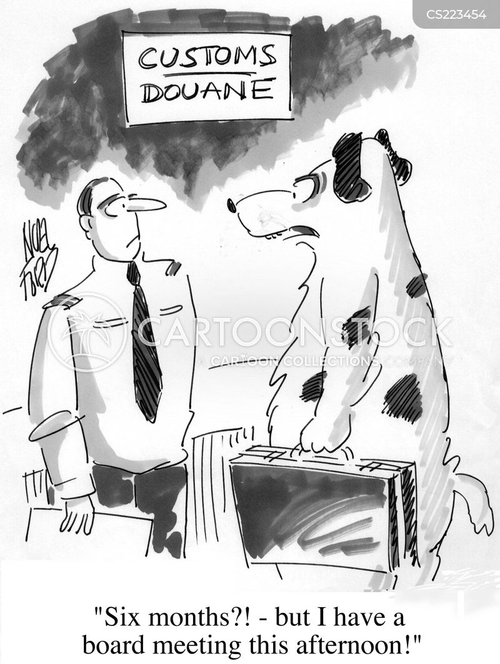 douane cartoon